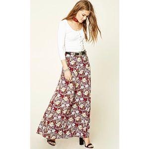 Dresses & Skirts - SALE! Floral Print Maxi Skirt
